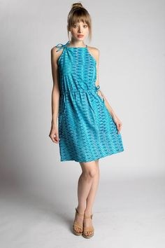Pacific Waves Dress - Passion Lilie