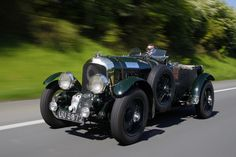 Bond's Blower Bentley driven