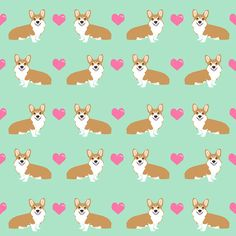 1 yard (or 1 fat quarter) of corgi love fabric cute valentines love corgis design best corgi fabrics by designer petfriendly. Printed on Organic Cotton Knit, Linen Cotton Canvas, Organic Cotton Sateen, Kona Cotton, Basic Cotton Ultra, Cotton Poplin, Minky, Fleece, or Satin fabric. Available in yards and quarter yards (fat quarter). This fabric is digitally printed on demand as orders are placed. Unlike conventional textile manufacturing, very little waste of fabric, ink, water or…
