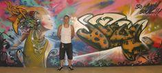 """soul"" Graffiti Murals, Street Art, Painting, Painting Art, Paintings, Painted Canvas, Drawings"