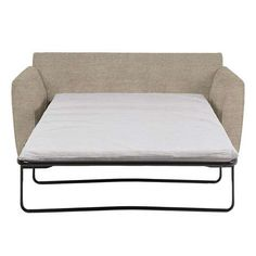 Featuring slanted arms and a sturdy metal folding frame, this fully assembled sofa bed is designed with foam cushioning and is available in a wide range of colo...
