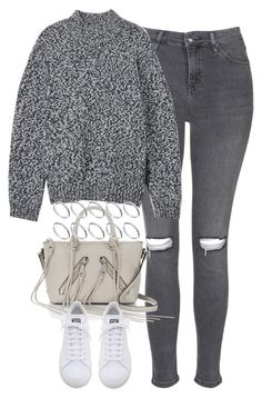 """Untitled #3685"" by keliseblog ❤ liked on Polyvore featuring Topshop, Hope, Rebecca Minkoff, adidas and ASOS"