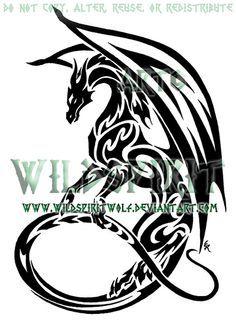 Les 9 Meilleures Images Du Tableau Tatouages De Dragon Celtique