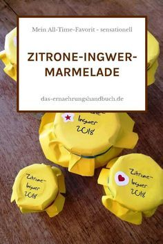 Zitrone-Ingwer-Marmelade astuce recette minceur girl world world recipes world snacks Healthy Eating Tips, Healthy Nutrition, Healthy Soup, Chutneys, Ginger Jam, Vegetable Drinks, Marmalade, Diy Food, Alcoholic Drinks