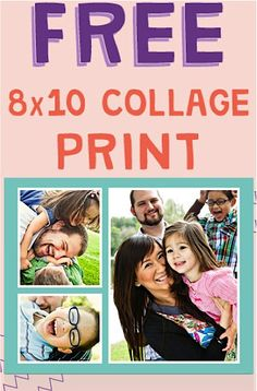 FREE Walgreens 8x10 Collage + FREE Pickup! #photo
