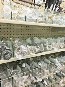 Crystal and glass knobs to update your furniture.  This is the best spot to find pretty knobs and hardware for an amazing price! This selection is hard to beat!