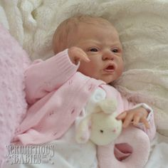 Reborn Baby Girl Doll Esme Laura Lee Eagles ♥ Scrumptious Babies ♥ Full Bodied ♥ | eBay