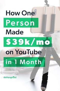 YouTube can be a great way to make money online, but it probably won't happen overnight. Gabby Wallace's YouTube following started with about 100 students in 2011 and steadily increased every year until she hit a million subscribers in 2018. If you're looking to monetize your own YouTube channel, take a look at how Wallace grew her business from the ground up. Earn More Money, Make Money Fast, Ways To Save Money, Make Money From Home, Make Money Online, Savings Challenge, Money Saving Challenge, Saving Money, Saving Tips