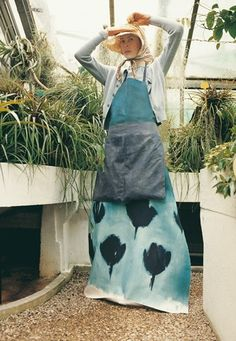 This could just be my apron for gardening in the greenhouse ( if I had one)
