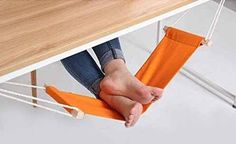 This portable hammock just for your feet: