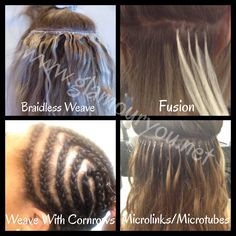 Hair extensions or weave mekani or microbeadweave some if the different methods of weaveextension installations i do these are my pmusecretfo Images