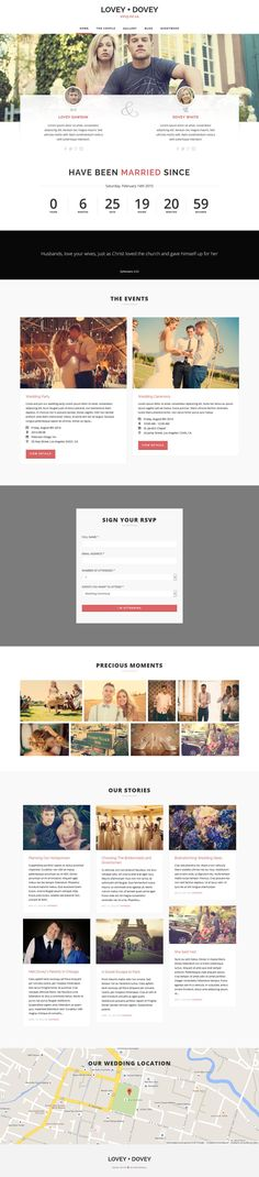 Lovey Dovey - Responsive WordPress Wedding Theme #website #wptheme Download: http://themeforest.net/item/lovey-dovey-responsive-wordpress-wedding-theme/8612007?ref=ksioks