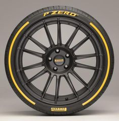 Pirelli releases their P Zero in a variety of colors.