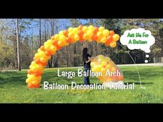 How to - Pink and White Baby Shower Link-O-Loon Balloon Pacifier Arch -Link a Loon - YouTube