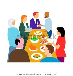 Retro style illustration showing the concept of diversity in workplace with diverse cultures in an office party celebration on isolated white background. Cultural Diversity, Freelance Illustrator, Graphic Design Art, New Pictures, Workplace, Retro Fashion, Royalty Free Stock Photos, Retro Style, Concept