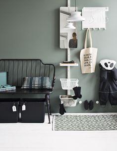 Decor, Furniture, House Design, Storage Bench, Home Decor, Entryway, Storage, Bench, Entryway Bench