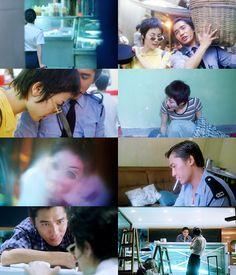 重庆森林 (Chóngqìng sēnlín) Chungking Express: un film hongkongais réalisé par Wong Kar-wai, sorti en 1994. Faye Wong 王菲, Tony Leung  Chiu-Wai 梁朝偉, Takeshi Kaneshiro 金城武, Brigitte Lin 林青霞