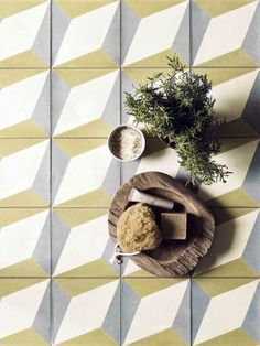 Handmade in Portugal, these tiles are part of a stylish range that will give your room a Mediterranean feel. Estremoz encaustic tiles x a sq metre, Fired Earth Hall Tiles, Tiled Hallway, Tiles Uk, Hallway Closet, Cement Tiles, Types Of Flooring Materials, Flooring Options, Kitchen Wall Tiles, Wall And Floor Tiles
