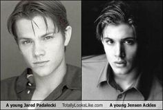 Young Sam and Dean. Are you sure they are not actually brothers?