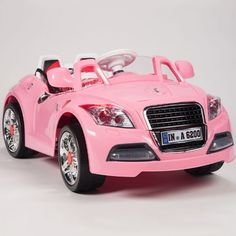 WM - Electric Ride on car Audi TT kids car battery operated pink front side. Kids Ride On Toys, Toy Cars For Kids, Cool Toys For Girls, Best Kids Toys, Little Girl Toys, Little Girls, Kids Power Wheels, Cute Toys, Remote Control Toys