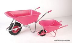 GPC Industries LTD Weelie Barrow Supplied ready to assemble and with colour coordinated handles and wheel A tough light multi-purpose wheelbarrow.