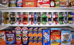 Thrifty Food Storage - How to stock up on food for your family, even when your budget is tight!