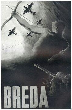 Italian Gun maker   WW2 Ww2 Propaganda Posters, Italian Posters, Airplane Art, Roman History, Nose Art, Graphic Design Branding, World War Two, Vintage Posters, Pin Up