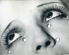 Man Ray - Glass tears, 1932