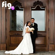 Wedding, Bride and Groom in front of Eagles Golf Club Doors Bride Groom, Wedding Bride, Wedding Dresses, Grooms, Eagles, Special Day, Brides, Golf, Club