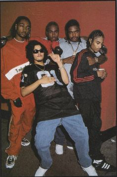 Bone Thugs N Harmony - Bizzy Bone, Flesh-n-Bone, Krayzie Bone, Wish Bone & Layzie Bone.