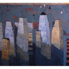 Grey Storm, 2012, 112x122cm - Olie op doek