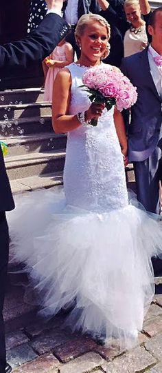 Mermaid Wedding, Lace Wedding, Unique Dresses, Formal Dresses, Designer Wedding Dresses, I Dress, White Lace, Fashion, Dresses For Formal