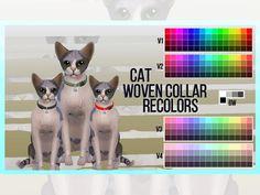 mayrez's Cat Woven Collar Recolors