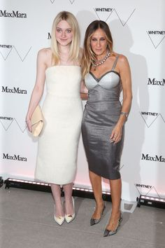 See What Sarah Jessica Parker, Dakota Fanning, and More Wore to the Whitney Museum Opening Celebration  - ELLE.com