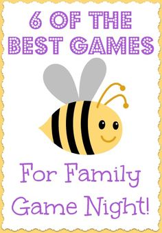 Best Games For Family Game Night. Great Christmas Gift Ideas too!