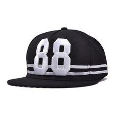 Unisex Snapback Adjustable Baseball Sport Cap Hip Hop Hat ($7.52) ❤ liked on Polyvore featuring accessories, hats, black, summer hats, baseball snapback hats, snapback cap, snap back hats and cap hats