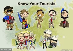 Know your tourists