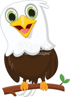 cute little eagle cartoon - Buy this stock vector and explore similar vectors at Adobe Stock Eagle Cartoon, Cartoon Birds, Baby Cartoon, Tiger Drawing For Kids, Baby Bald Eagle, Nursery Drawings, Eagle Face, Eagle Drawing, Eagle Painting