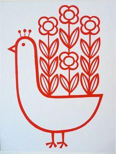 scandi bird