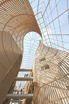 Moshe Safdie - Museum concept.