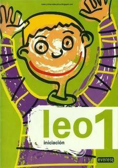 """Cartillas de lectura """"Leo 1"""" y """"Leo 2"""" de Editorial Everest, para Segundo Ciclo de Educación Infantil y 1º Nivel de Educación Primaria. La primera cartilla para la lectura de vocales y sílabas directas y la segunda cartilla para sílabas inversas y trabadas."""