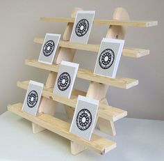 Image result for diy stationery display stand