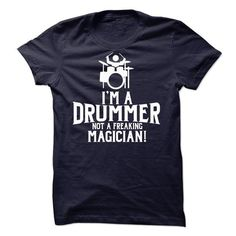Drummer - #gifts for boyfriend #gift for friends. GET IT => https://www.sunfrog.com/LifeStyle/Drummer-41365762-Guys.html?60505