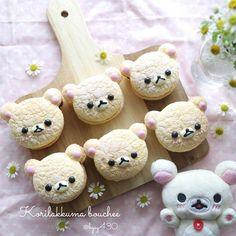 Rilakkumar cookies by yuka (@hgsy430)