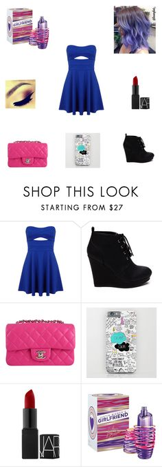 """My Birthday Outfit"" by nikolestyles ❤ liked on Polyvore featuring Miss Selfridge, Chanel and Justin Bieber"