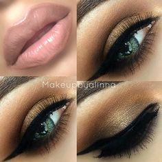Brown Smokey Eyes