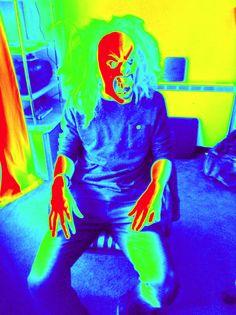 Crazy man!