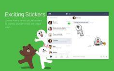 La plataforma de mensajería LINE ha lanzado una extensión para Chrome que permite a sus usuarios hacer chat de texto y enviar archivos desde el navegador.