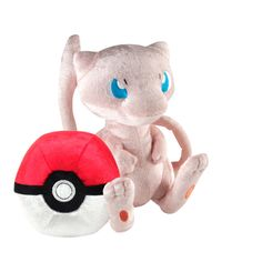 Pokemon 20th Anniversary Limited Edition Mew with Pokeball Plush Set for Collectibles | GameStop