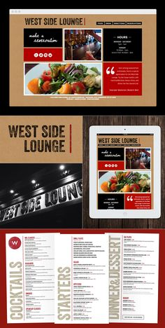 JSGD Brand Development & Web Design | West Side Lounge